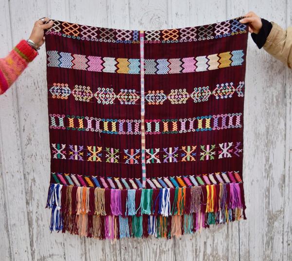Vintage Hand Woven Guatemalan Textile