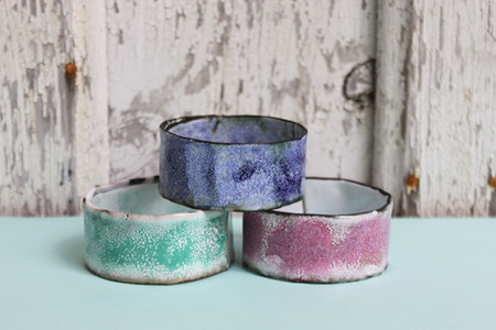 Melanie Rice Wide Bangle