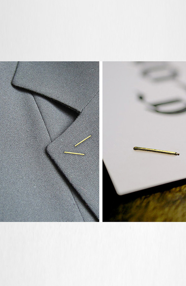 Oooms 14k Gold Staples