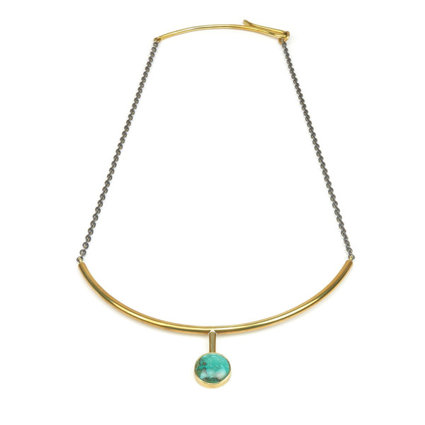 Claire Green Jewelry Oasis Collar Necklace