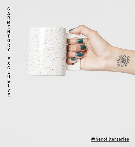Lindsey Hampton Square Handle Mug