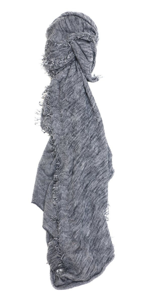 Grisal Love Cashmere Scarf in Ash