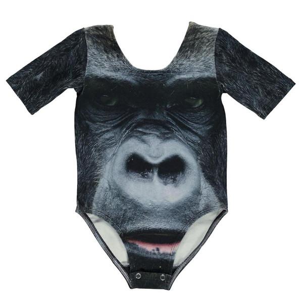 Popupshop Gym Piece - Gorilla Print