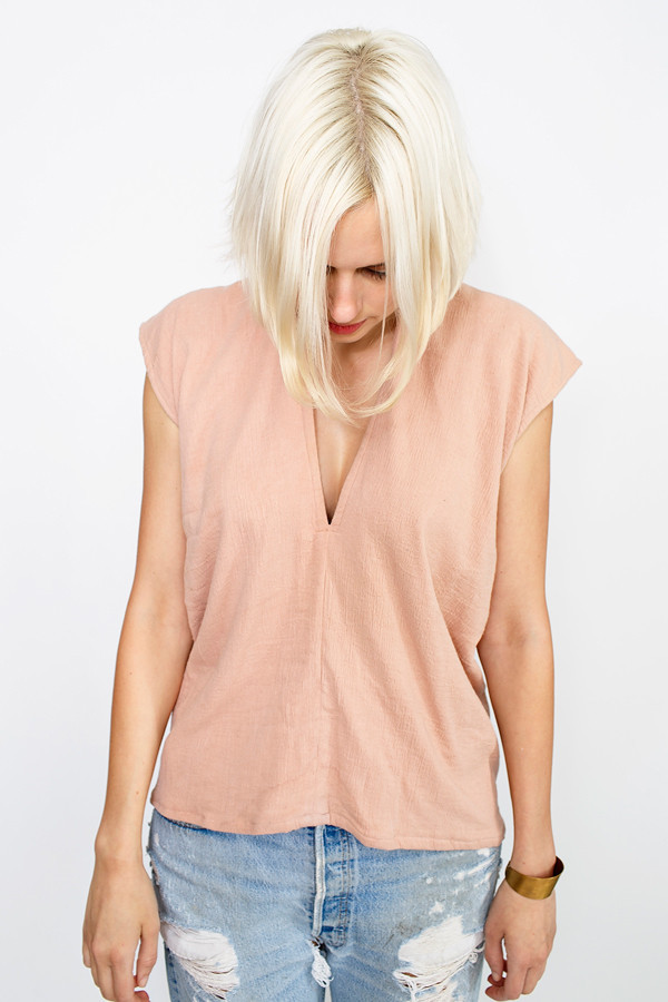 Miranda Bennett Clay Everyday Top | Double Gauze