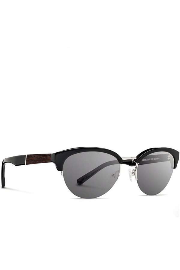 Shwood Hayden Black Ebony Sunglasses