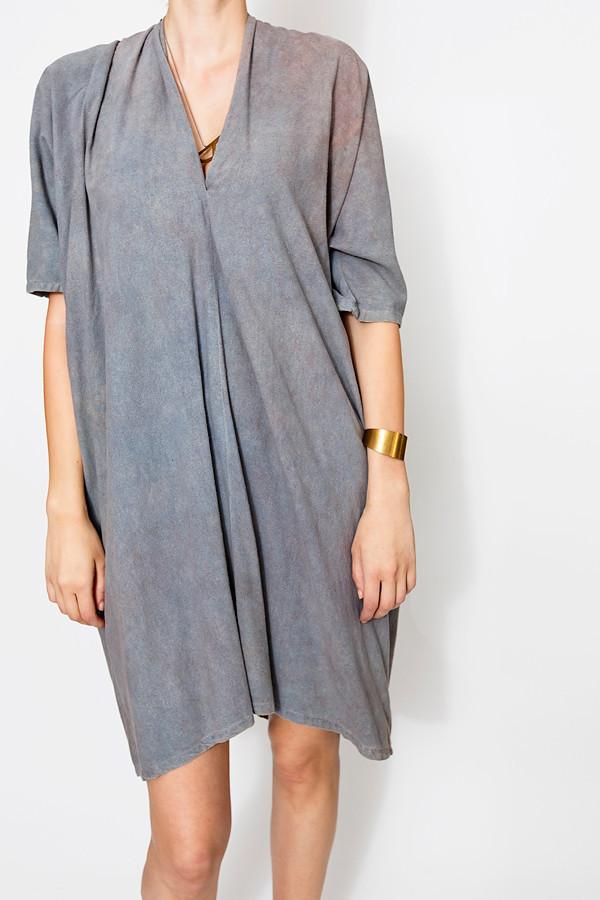 Miranda Bennett Overdye Muse Dress, Oversized | Silk