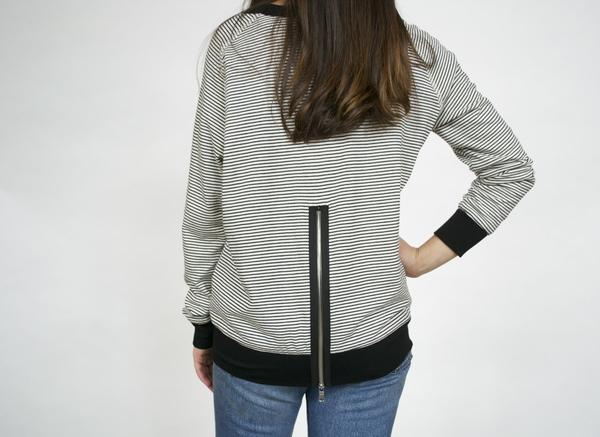 Red 23 Zipper Back Sweatshirt