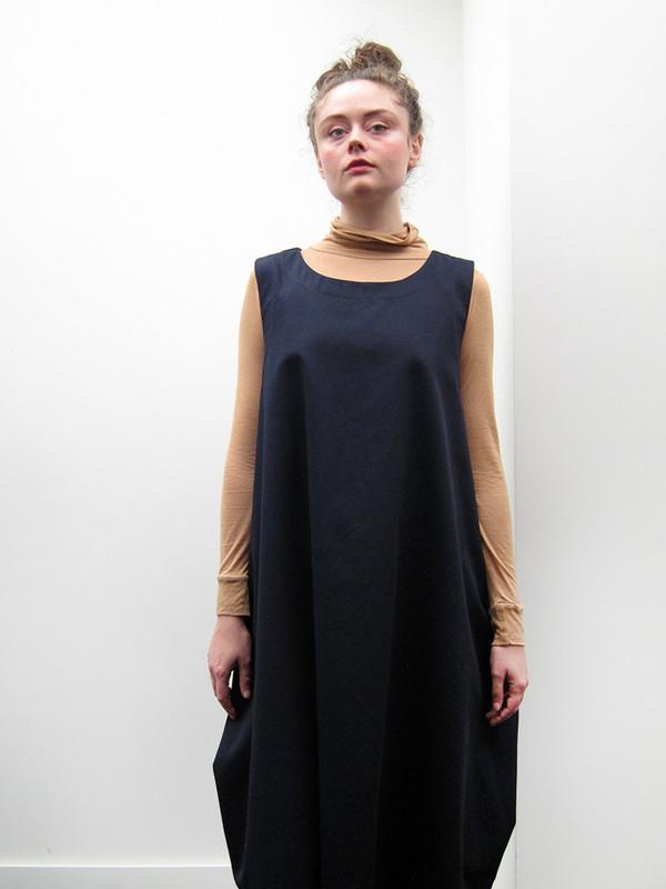 Rowena Sartin Box Vest Dress   Loop Tie