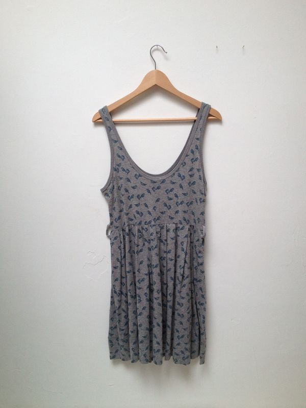 Karen Walker Bird Singlet Dress