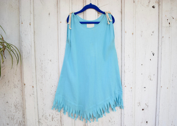 Kid's Boy+Girl: Aqua Dress