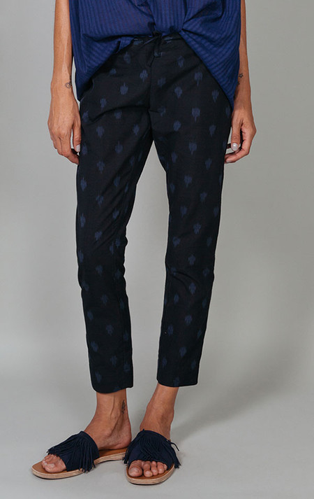 Two Ikat slim pant