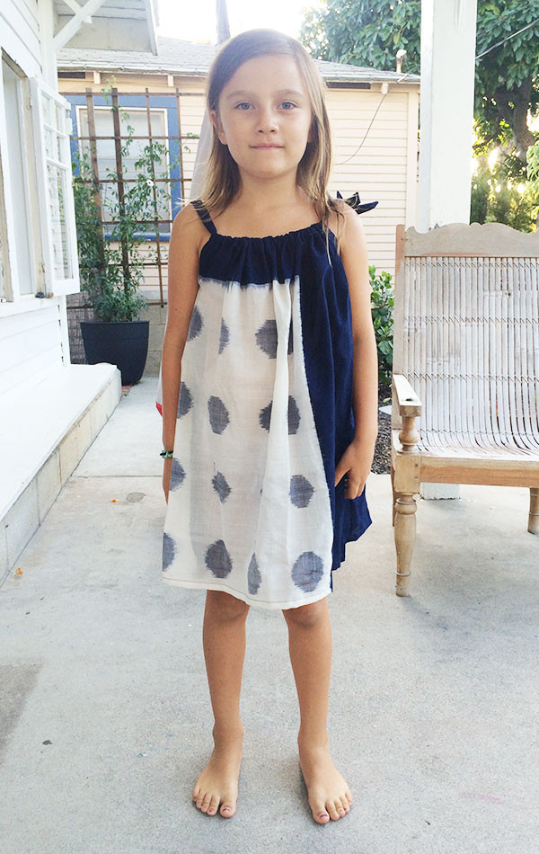 Two Kid's Ikat Dress
