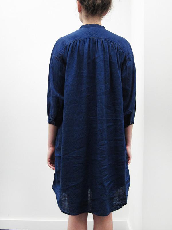 Kapital French Cloth Linen Flap Down Dress