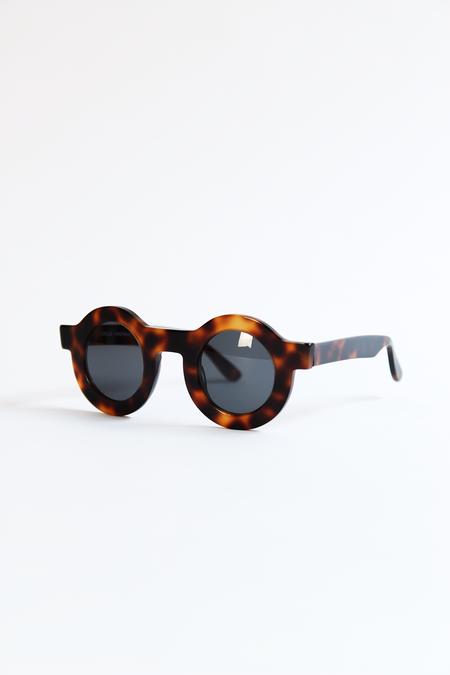 DUSEN DUSEN circle sunglasses tortoise