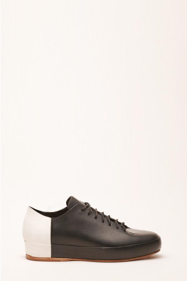 Men's FEIT BiColor Low Black White Shoe