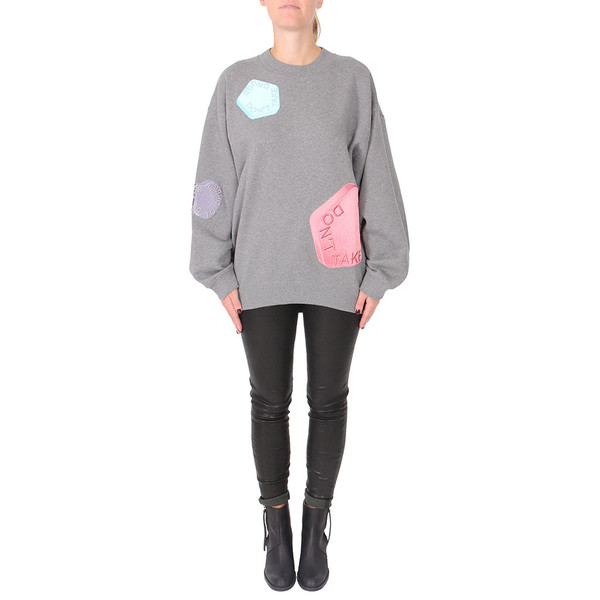 "Acne Studios Beta All Over ""Say no to Drugs"" Sweatshirt"