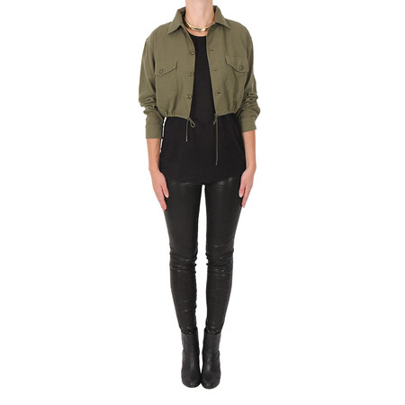 NLST Crop Army Jacket
