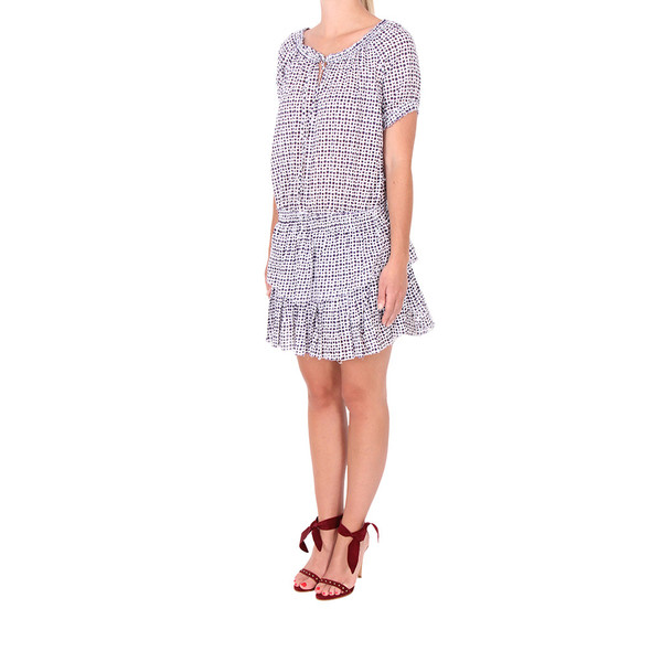 LOVESHACKFANCY Poppy Shibori Dot Dress