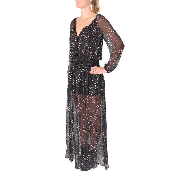 LOVESHACKFANCY Stars Smocked Maxi Dress