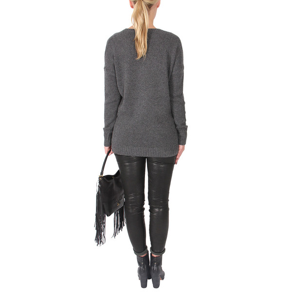 Theory Syrene V-Neck Cashmere Sweater