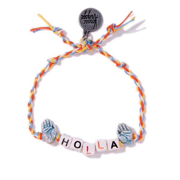 Venessa Arizaga Holla Friendship Bracelet