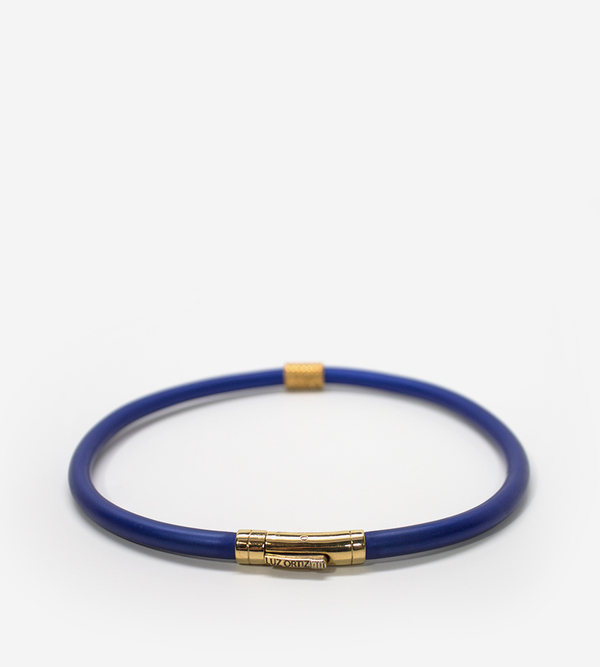 Luz Ortiz Basiko Blue Necklace