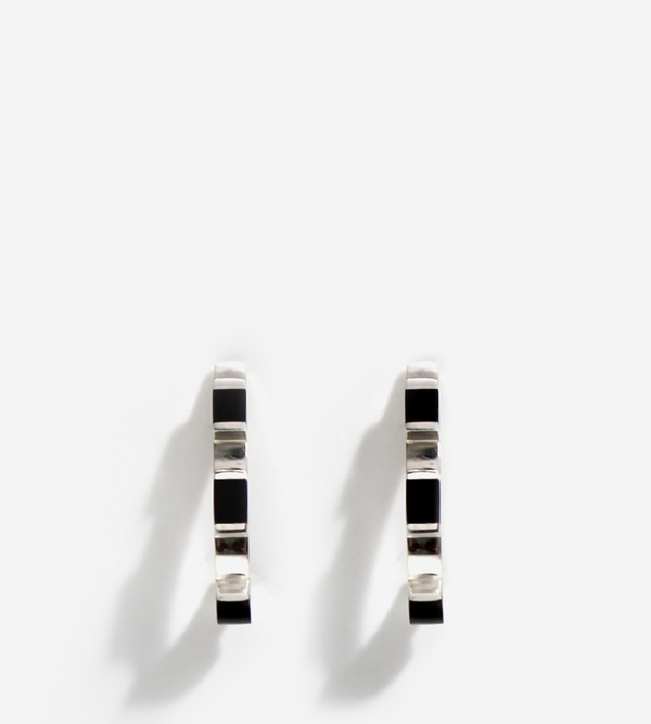 Luz Ortiz Cubik Onyx Earrings