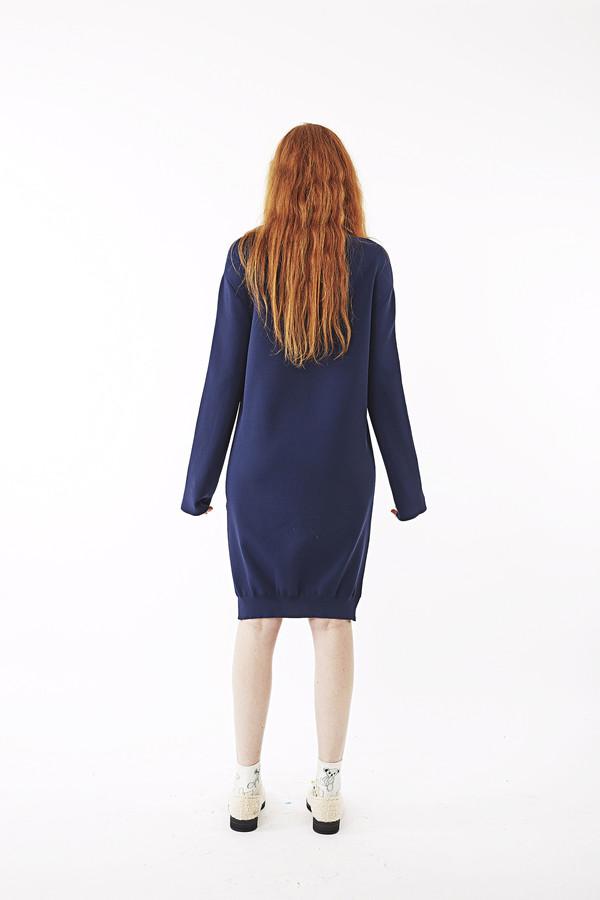 Nanushka Gisl High Neck Sweater Dress