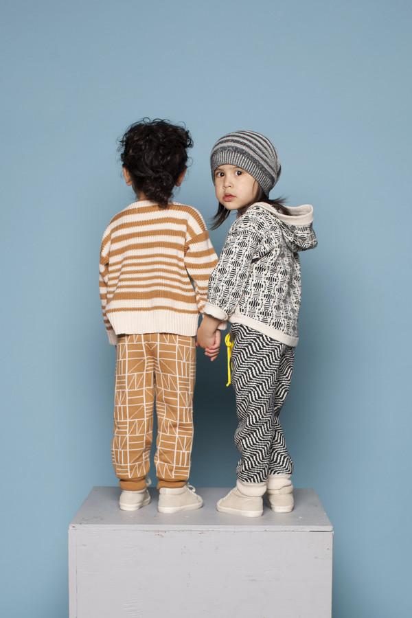 Kids' Micaela Greg Tile Zip Hoodie