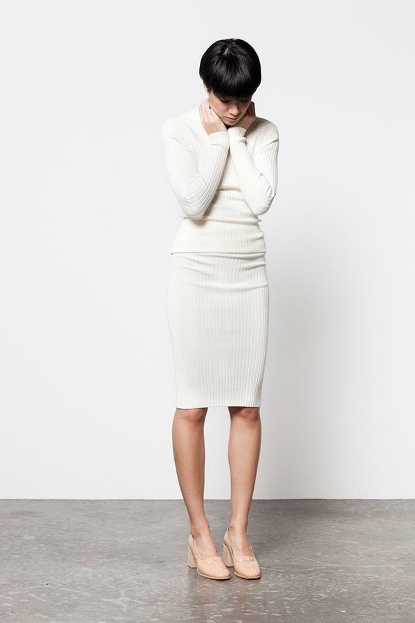 giu giu Nonna Skirt |  ivory
