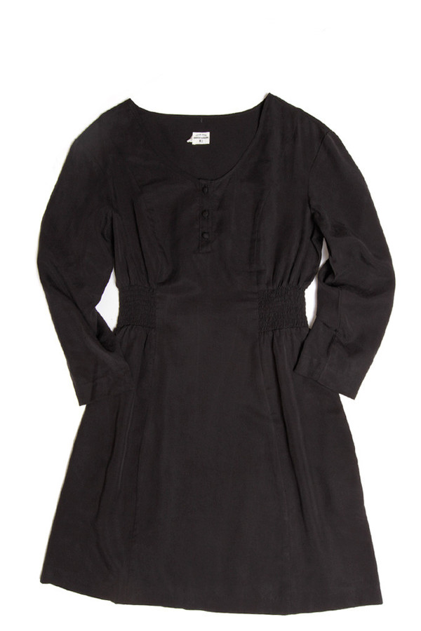 Bridge & Burn Jessa Black Dress