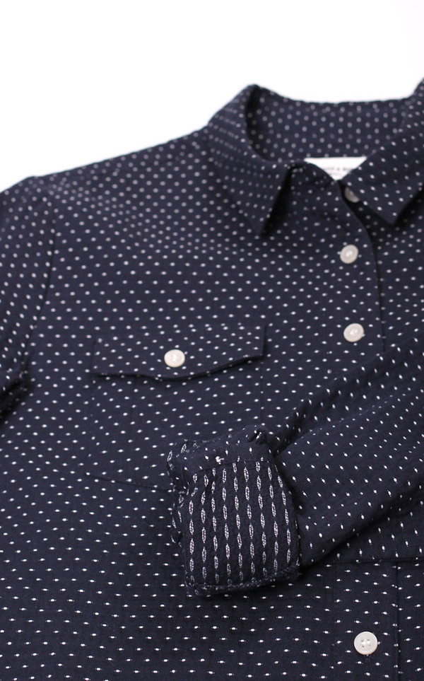 Bridge & Burn Bird Polkadot Shirt