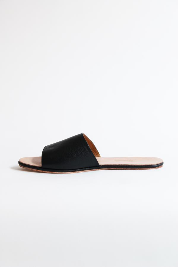 THE PALATINES caelum slide sandal black