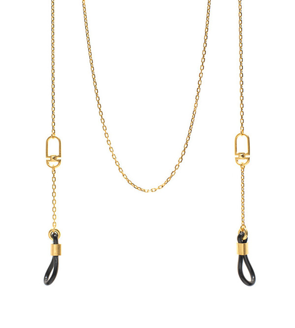 Gold Bow Sunglasses Chain