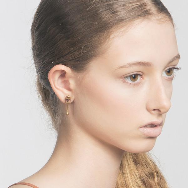 Metalepsis Projects Bar Box earrings