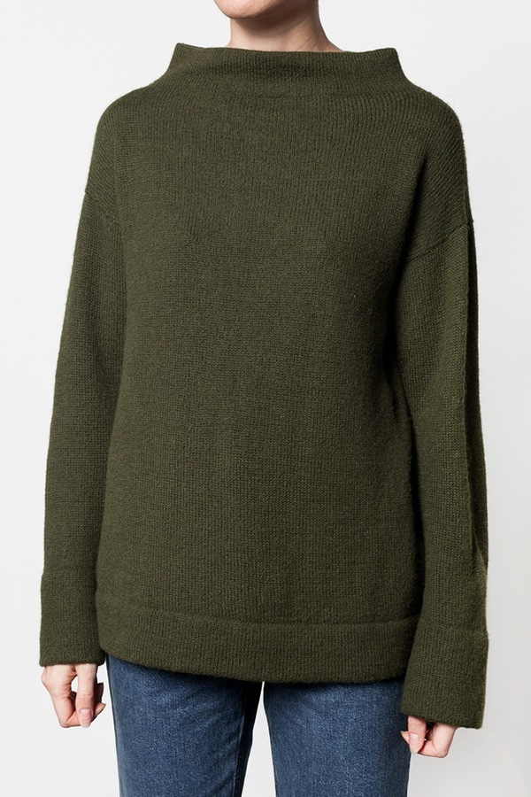 Lauren Manoogian Mock Pullover