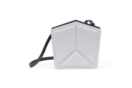 Nº28 PENTATONIC HONEYCOMB, LIGHT GRAY + BLACK