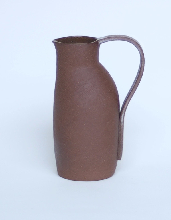 Carnevale Clay Water Pitcher