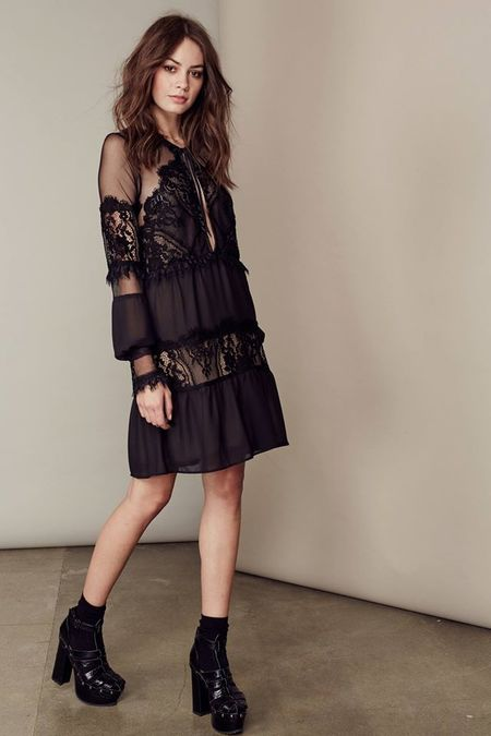 For Love & Lemons Alexa mini dress