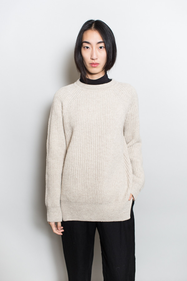 Achro Chunky Knit Round Neck Sweater