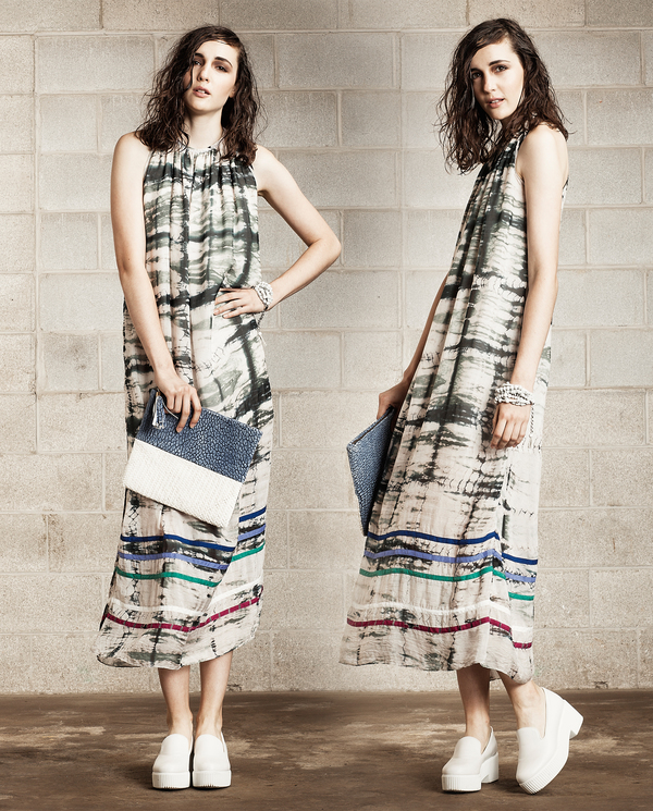 Laura Siegel Shibori Hand Dyed Dress
