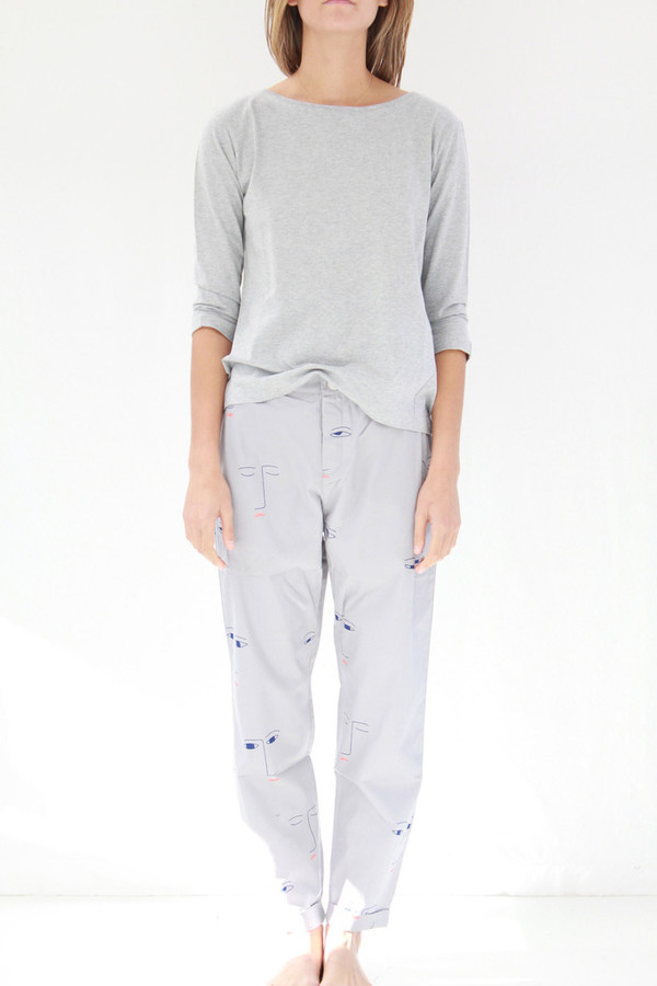 Kowtow Method Pant Faces On Grey