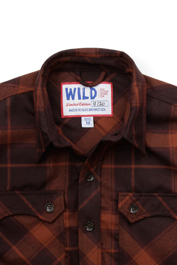 Men's WILD x Bridge & Burn Lumberjack Flannel