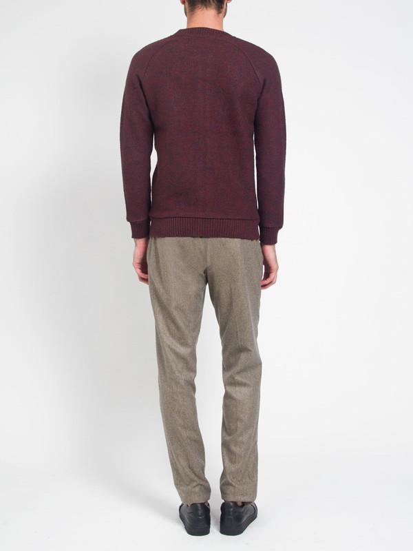 Men's Journal Boiled Melange Cardigan Sweater