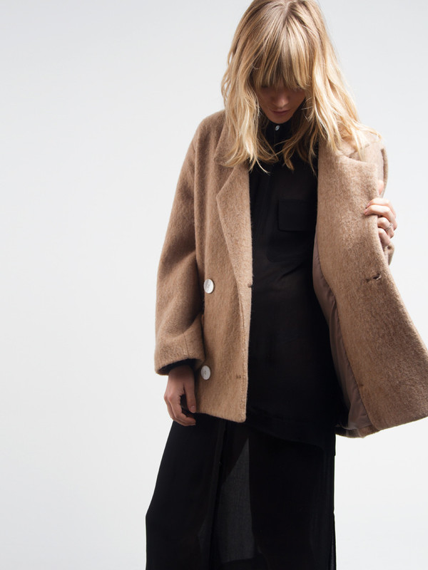Brandy Pea Coat