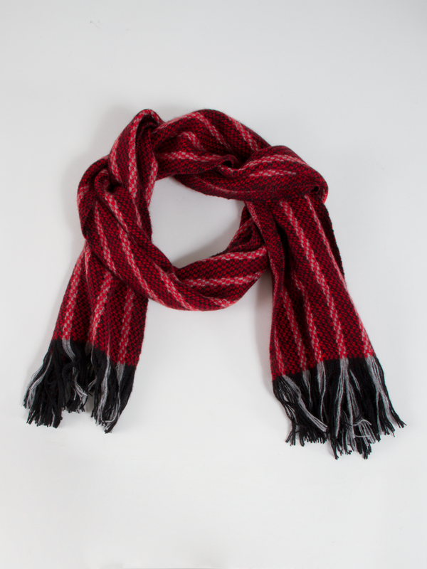 The Dunlap Weavers Calvary Cashmere Scarf
