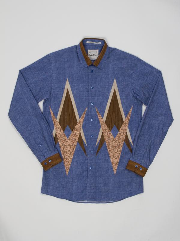 Men's Saint Paul Marquetry Shirt