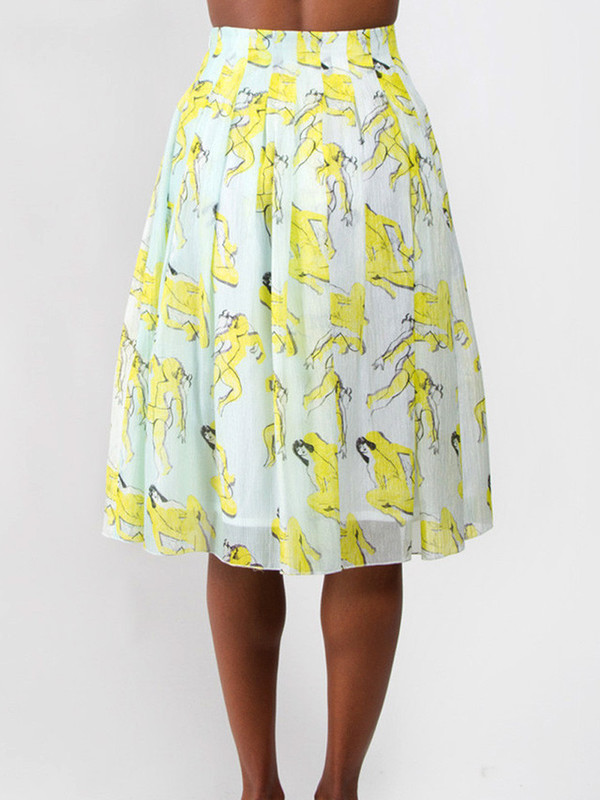 Risto Plisse Skirt