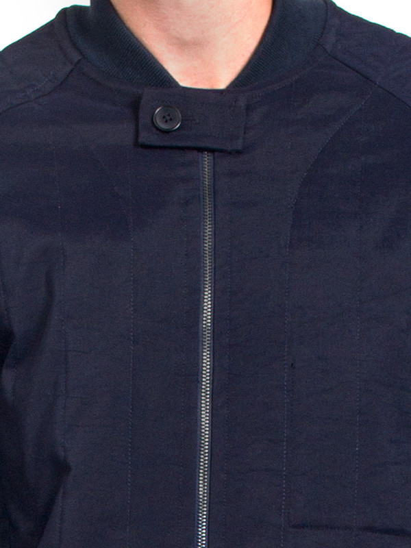 Men's Ddugoff Quilted Baseball Coat
