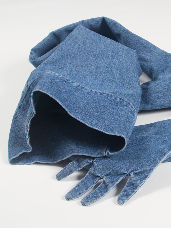 69 Sleeve Hat Denim